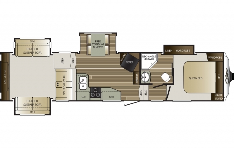 Awesome Keystone Cougar 326Rds Rvs For Sale In Texas Download Free Architecture Designs Momecebritishbridgeorg