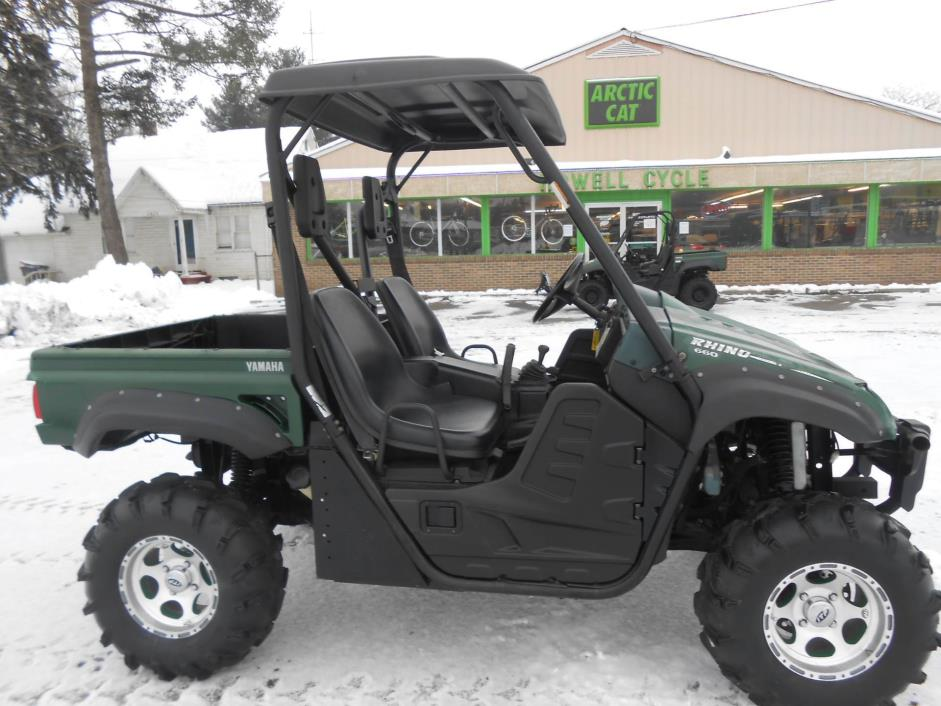 yamaha rhino 660 motorcycles for sale in michigan. Black Bedroom Furniture Sets. Home Design Ideas
