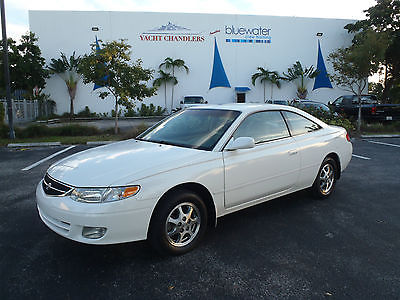 2001 Toyota Solara SE - Special Edition 2 Door Sport Coupe 43k Original Miles - One Owner - No Accident - 100% Florida Car - Perfect Carfax