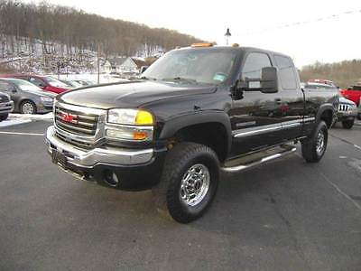 2007 GMC Sierra 2500HD Classic SLE1 4dr Extended Cab 4WD SB 2007 GMC Sierra 2500HD Classic SLE1 4dr Extended Cab 4WD SB 6.0L V8 Automatic 4-