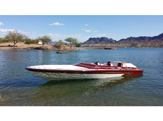 2000 Schiada 21 River Cruiser