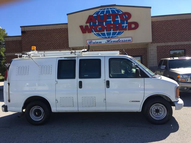 2001 Chevrolet Express Cargo Van  Cargo Van