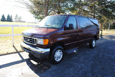 2007 Ford E-Series Van ECONOLINE E350 SUPER DUTY 2007 FORD E350 12 PASSENGER VAN/1OWNER!CORP OWNED!WOW!LOOK!NICE/WELL MAINTAINED!
