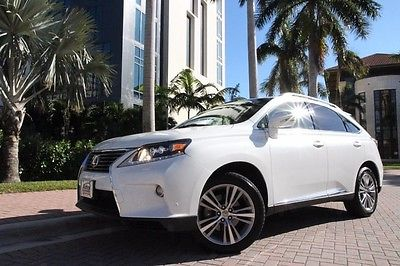 2013 Lexus RX Base Sport Utility 4-Door 2013 Lexus RX 450h Hybrid AWD, Nav, LOADED!