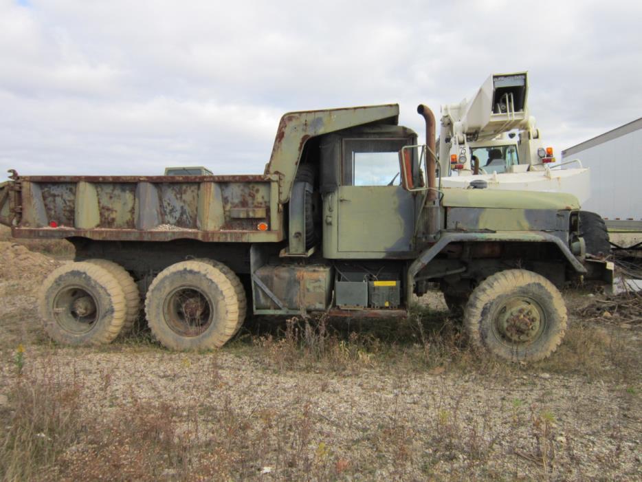 1980 Am General Truck  Dump Truck