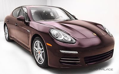 2014 Porsche Panamera 4 Mahogany Metallic Porsche Panamera with 12,403 Miles available now!