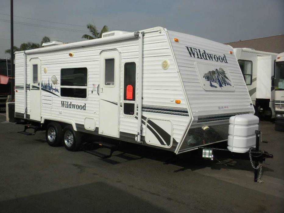 2007 Forest River Wildwood 23FBL