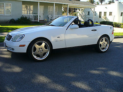 1999 Mercedes-Benz SLK-Class White Gorgeous Califiornia Rust Free Mercedes SLK Conv. Amazing Condition  MUST SEE