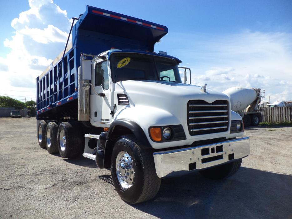 2003 Mack Granite Cv713  Dump Truck