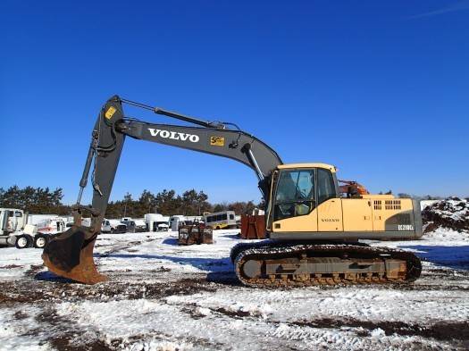 2010 Volvo Ec210cl Excavator Logging