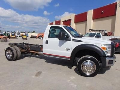 2011 Ford Other Pickups XL 2011 Ford Super Duty F-550 DRW XL CAB & CHASSIS 6.7 TURBO DIESEL