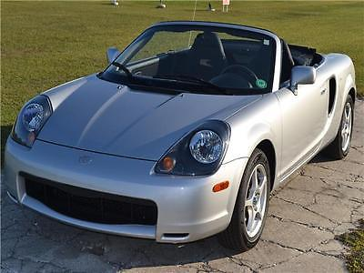 2001 Toyota MR2 Spyder Base 2dr Convertible 2001 Toyota MR2 Spyder Base 2dr Convertible 40,120 Miles SILVER Convertible 1.8L