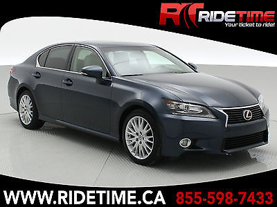 2013 Lexus GS Base Sedan 4-Door 2013 Lexus GS350 | Meteor Blue Mica w/  Parchment Leather | Sunroof, Navigation
