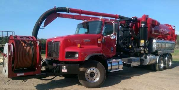2001 Vactor 2115 Combination Sewer Cleaner -Pd  Tanker Trailer