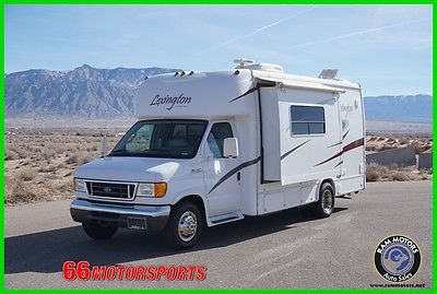 2006 Forest River LEXINGTON 235 W/ LARGE SLIDE Class B 33K miles Onan generator