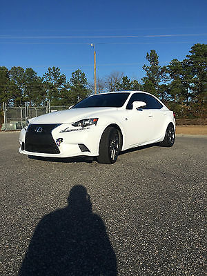 2014 Lexus IS F-Sport 2014 Lexus IS250 FSport AWD, NAV, Red Leather interior, really clean.