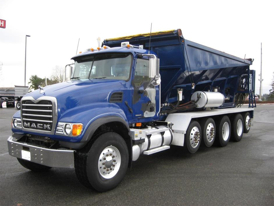 2007 Mack Granite Cv713 Stone Spreader Truck