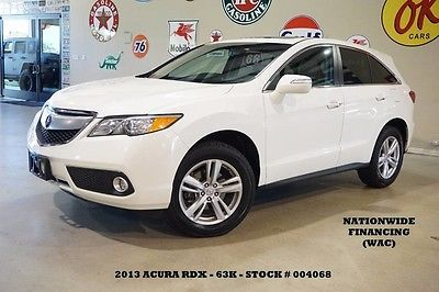 2013 Acura RDX  13 RDX TECH PKG FWD,SUNROOF,NAV,BACK-UP CAM,HTD LTH,18IN WHLS,63K,WE FINANCE!!