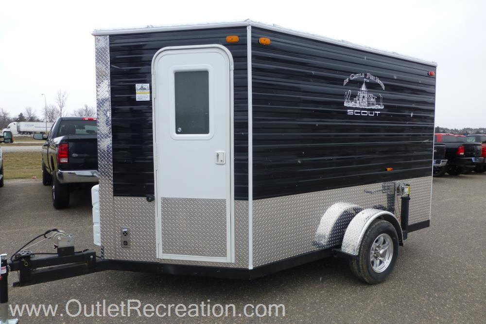 15 toy hauler rv fish house trailers in minnesota for Toy hauler fish house