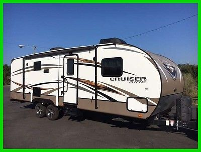 2014 Crossroads Cruiser Aire 27RB 27' Travel Trailer 2 Slides Kitchen Island MS