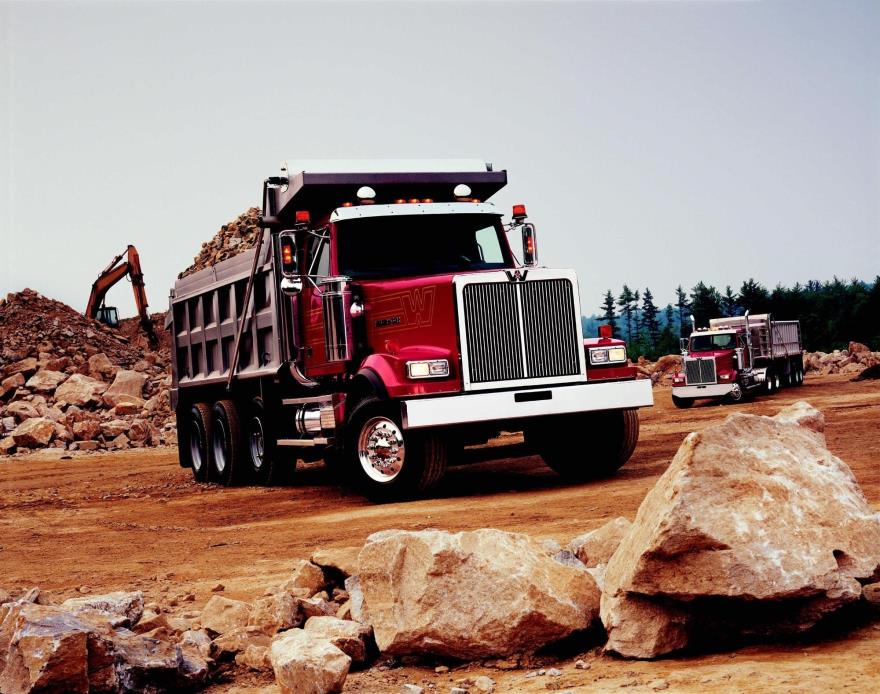 2018 Western Star 4900sf Dump Truck