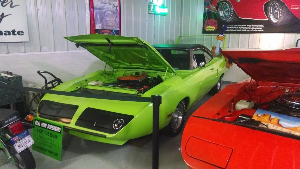 1970 Plymouth Road Runner superbird HEMI SUPERBIRD, REAL DEAL 4SPD, #'S, BUILDHSHEET, ORIG TAG, BODY,Dave wise inspc