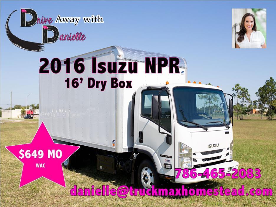 2016 Isuzu Npr Beverage Truck