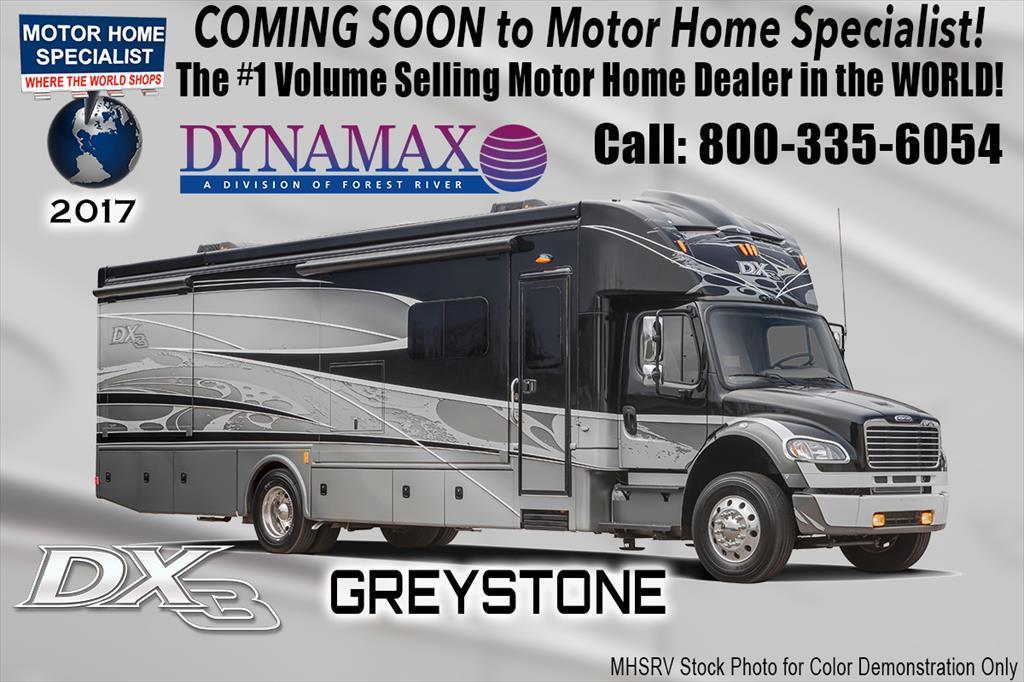 2017 Dynamax Corp DX3 37BH Super C Bunk W/Diesel Aqua Hot,