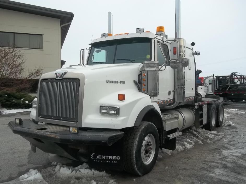 2007 Western Star 4900sa Winch Truck