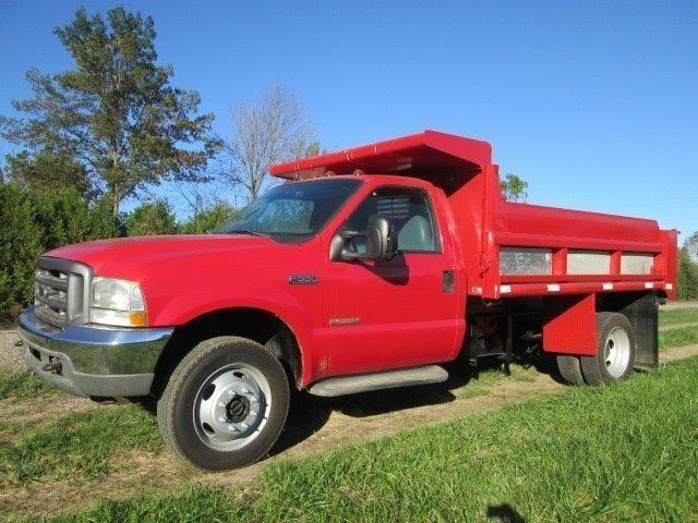 2003 Ford F Super Duty Dump Truck