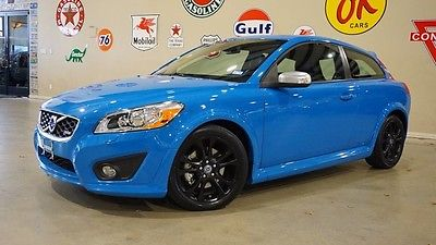 2013 Volvo C30  13 C30 T5 R-DESIGN POLESTAR EDITION,6 SPD,ROOF,HTD LTH,BLK WHLS,39K,WE FINANCE!!
