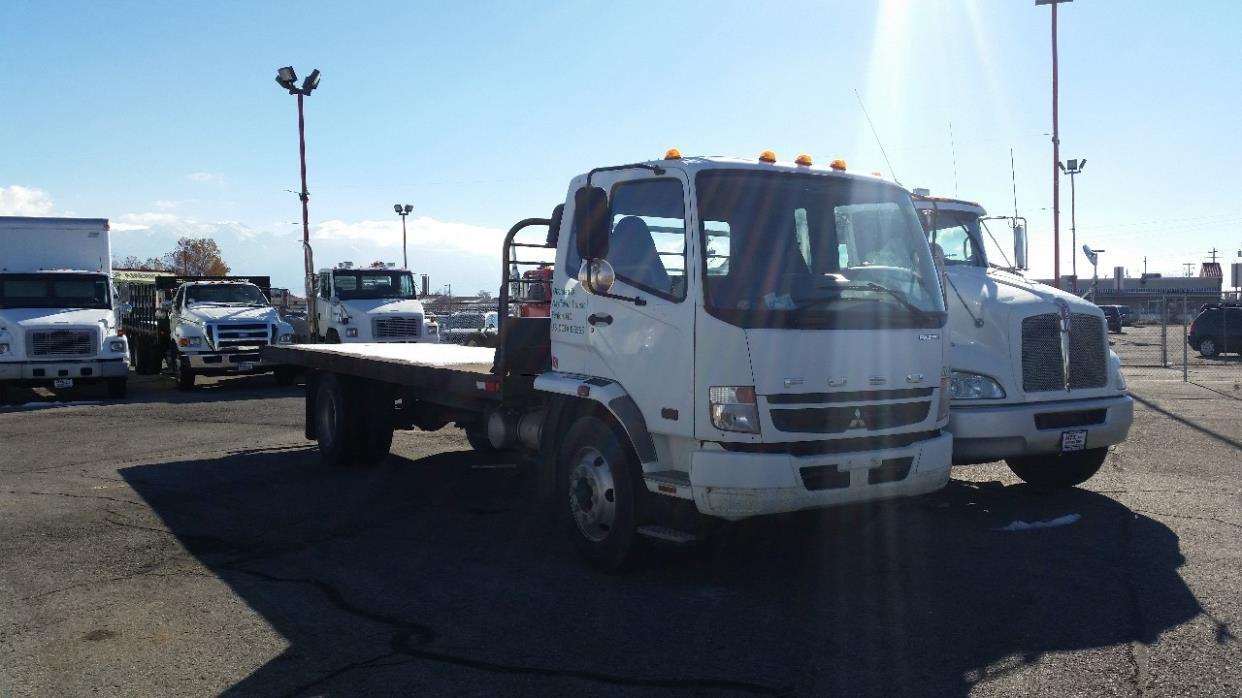2008 Mitsubishi Fuso Fk Flatbed Truck