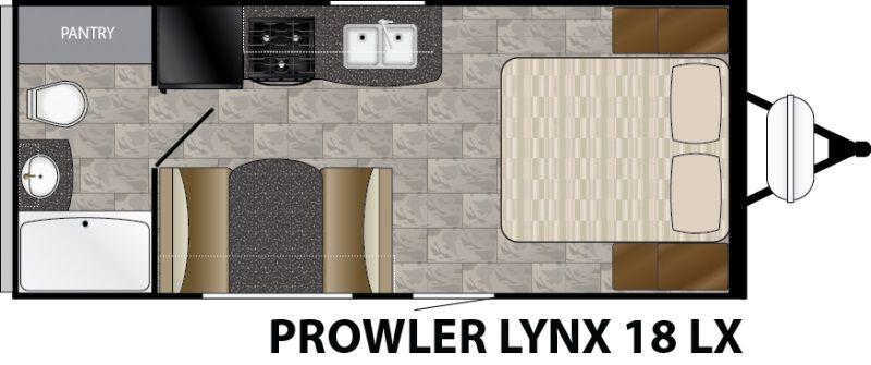 2017 Heartland Prowler Lynx 18LX