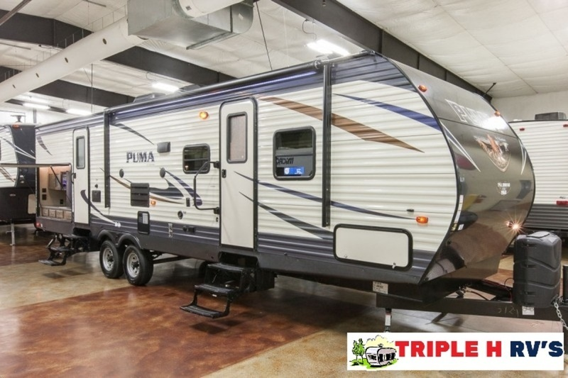 Two bedroom travel trailer with bunks 31bhss rvs for sale for Two bedroom travel trailers for sale