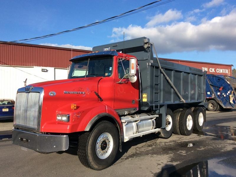 2011 Western Star 4900sb Dump Truck