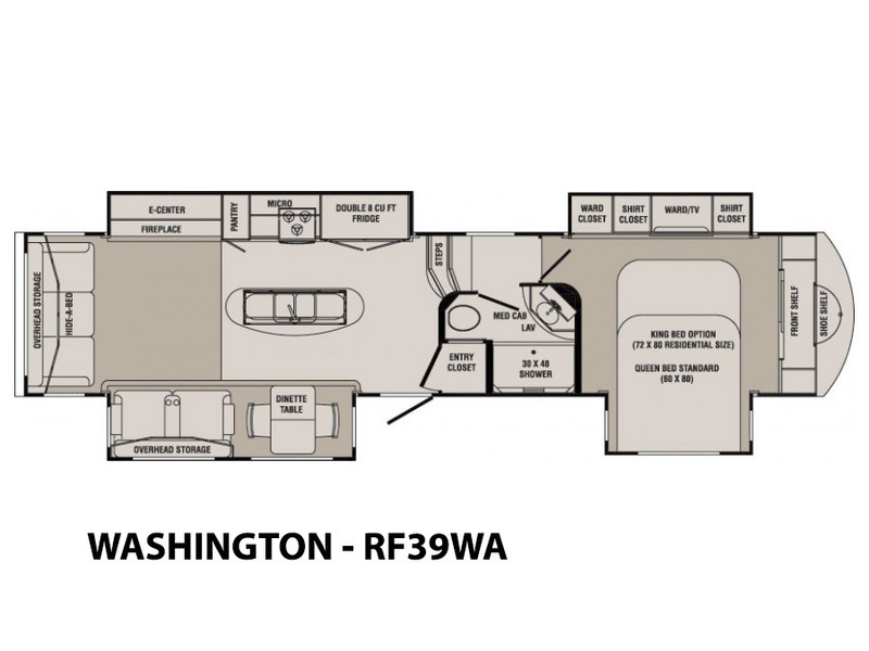 2014 Crossroads Rv Rushmore WASHINGTON - RF39WA