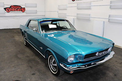 1966 Ford Mustang Runs Drives Body Int VGoog 200CI 6 3 spd auto 1966 Green Runs Drives Body Int VGoog 200CI 6 3 spd auto!