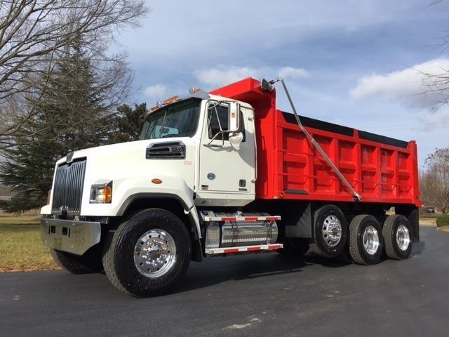 2013 Western Star 4700sf Dump Truck