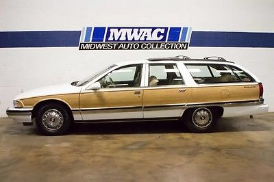 1996 Buick Roadmaster Estate Wagon Collector's Edition Wagon 4-Door ONE OWNER~ONLY 31K MILES~VISTA ROOF~RARE~G67~WOODY~WOW~