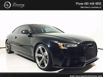 2014 Audi RS5 Base Coupe 2-Door Navigation_Black Optic_Driver Assist_Bang Sound_Adaptive Cruise_TITANIUM