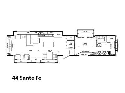 2017 DRV Mobile Suites 44 Sante Fe
