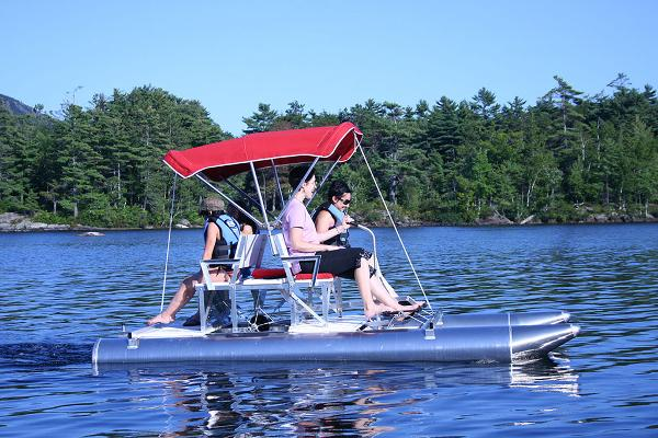 Pontoon Paddle Boat Vehicles For Sale