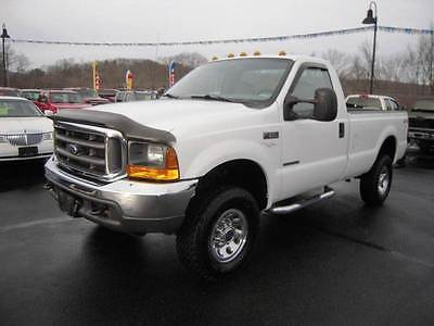 2001 Ford F-350 XL 2dr Standard Cab 4WD 2001 Ford F-350 Super Duty XL 2dr Standard Cab 4WD 7.3L V8 Turbo Diesel Manual 5