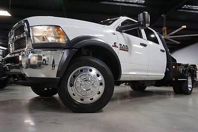 2015 Dodge Ram 4500 TRADESMAN CUMMINS DIESEL 4X4 CM BED 15 Ram 4500 Chassis Tradesman CM Bed 6.7L Cummins Diesel 4x4 60