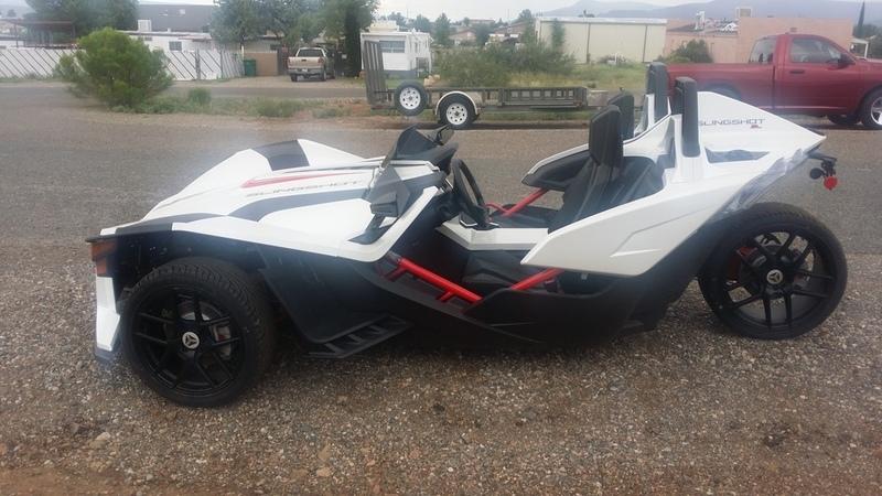 2016 Polaris Slingshot Reverse Trike SL LE White Pearl
