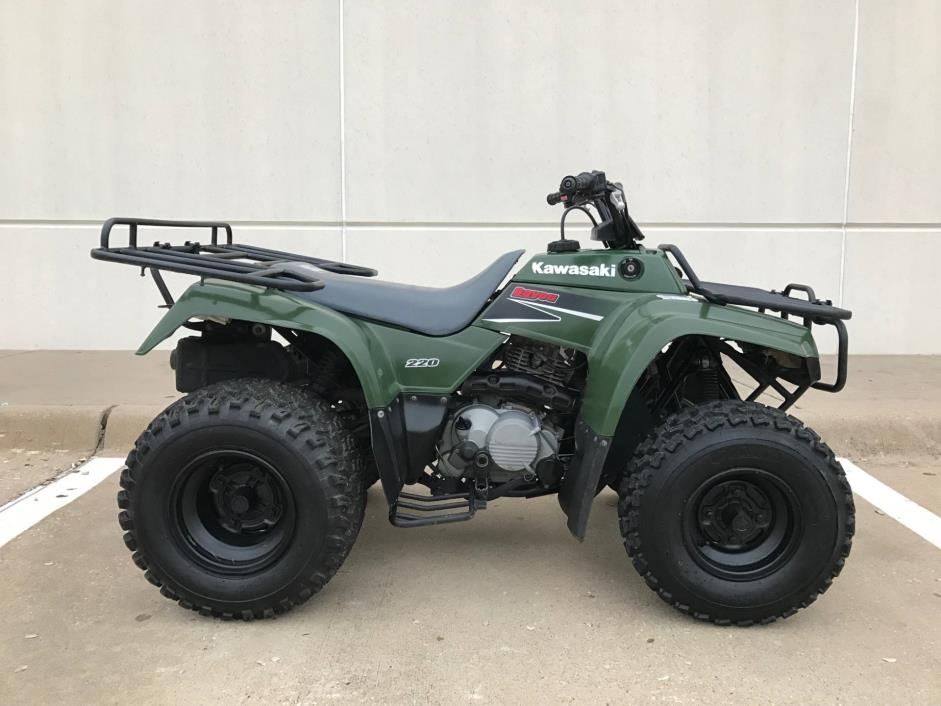 Kawasaki Bayou 220 motorcycles for sale in Texas