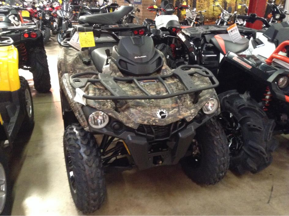 2016 Can-Am Outlander L DPS 450 - Break-Up Country C