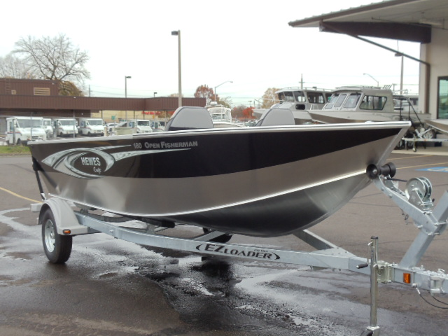 Hewescraft 180 open fisherman boats for sale for Yamaha eugene or