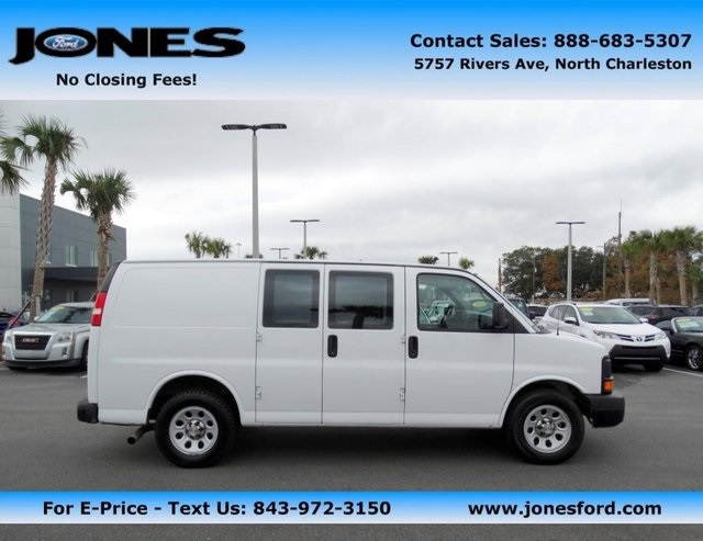 Chevrolet express cargo van cars for sale in south carolina for South carolina department of motor vehicles charleston sc