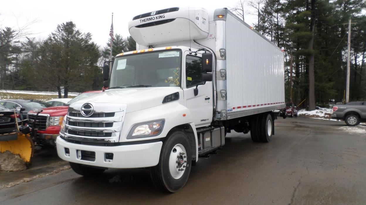 2017 Hino 338  Refrigerated Truck